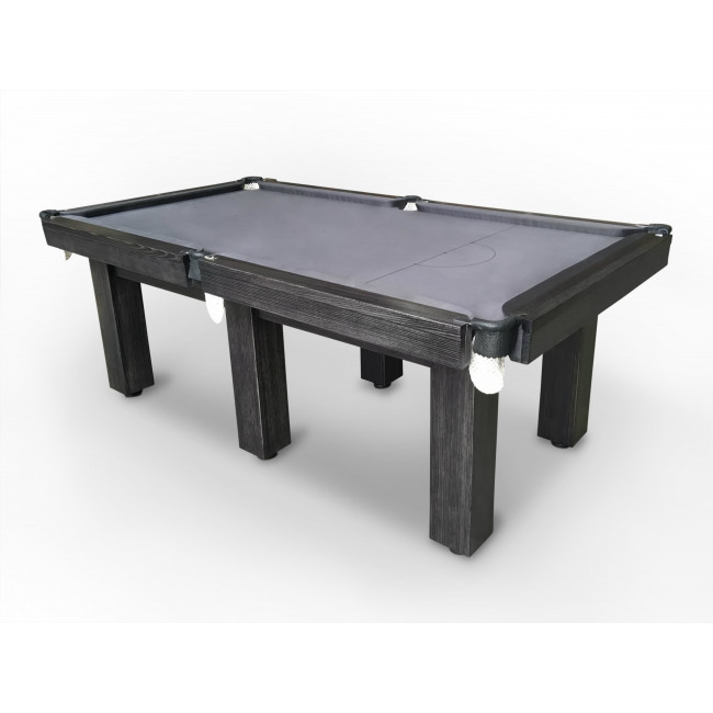 8' Natural Slate Premier Billiards/ Pool Table 6 Square Legs