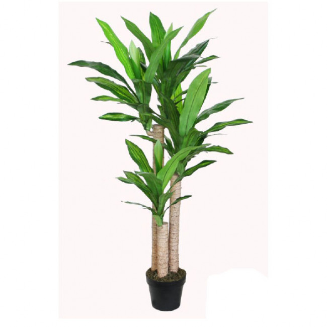 NWTURF ARTIFICIAL DRACENA PLANT 125CM WITH 66 LEAVES