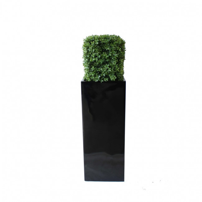 NWTURF PREMIUM DELUXE BOXWOOD HEDGE 1M TALL WITH FIBREGLASS POT