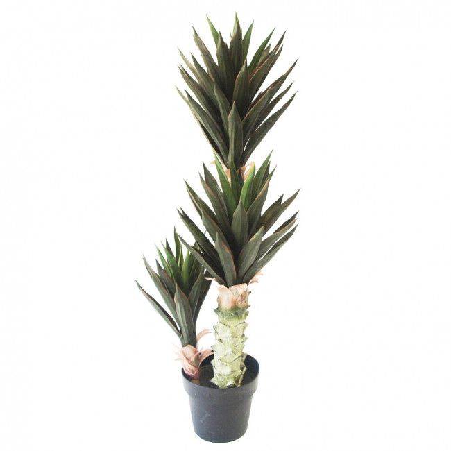 NWTURF ARTIFICIAL AGAVE MEXICANO UV STABILISED 1M, 3 TRUNKS, 87 LEAVES