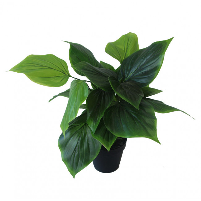 NWTURF ARTIFICIAL PHILODENDRON PLANT 45CM WITH 30 LEAVES