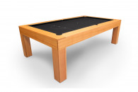 7' Exec Natural Sate Pool Table