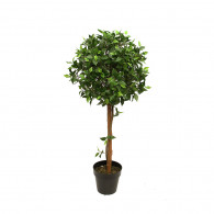 NWTURF Artificial FICUS BALL TREE 1.2M Indoor Outdoor Plastic Plant