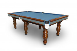 7' Slate Elite Billiards/Pool Table With 4 Round Legs