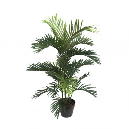 NWTURF Artificial ARECA PALM 90CM Indoor Outdoor Plastic Plant
