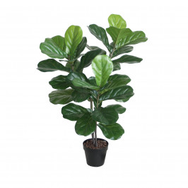 NWTURF Artificial Fiddle leaf Fig tree 1m with 34 large leaves.