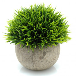 ARTIFICIAL MONDO GRASS BALL POTTED 12CM