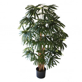 NWTURF ARTIFICIAL RAPHIS PALM 1.2M TIMBER TRUNK