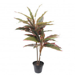 NWTURF ARTIFICIAL SILVER KING PLANT 70CM WITH BLACK POT
