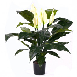 NWTURF ARTIFICIAL SPATHIPHYLLUM PLANT 48CM