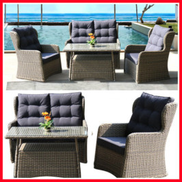 4 PIECE WICKER OUTDOOR SETTING! TOOR