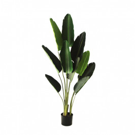 NWTURF ARTIFICIAL 1.5M TRAVELLER PALM WITH REAL TOUCH LEAVES